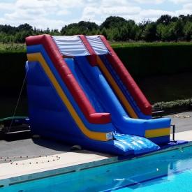Toboggan Gonflable Aquatique pour piscine