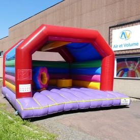 Colour Bouncy Castle