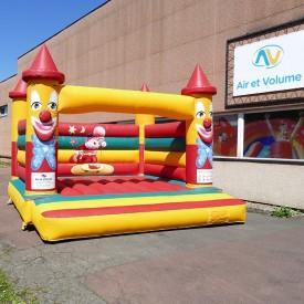 Clown Bouncy Castle