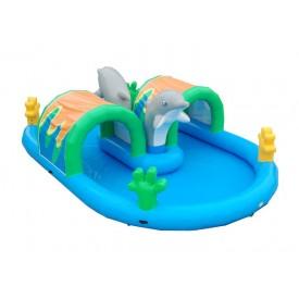 Bassin Gonflable Aquatique Dauphin