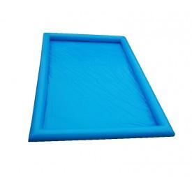 Bassin PVC étanche bleu