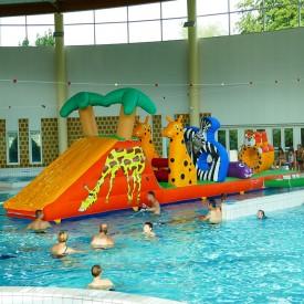 Structure Aquatique Gonflable pour piscine : Parcours jungle