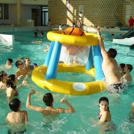 Basketball Aquatique - Panier de basket gonflable pour piscine