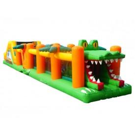 Parcours Gonflable Crocodile