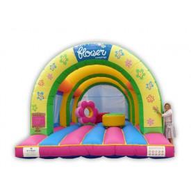 Flower 3 arches Bouncy Castle