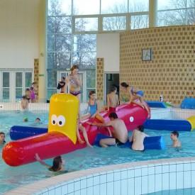 jeu Gonflable Aquatique : Serpent Gonflable pour piscine