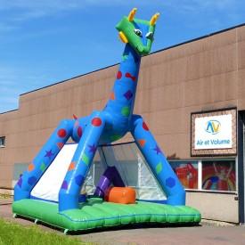 Château Gonflable Girafe Fantastique