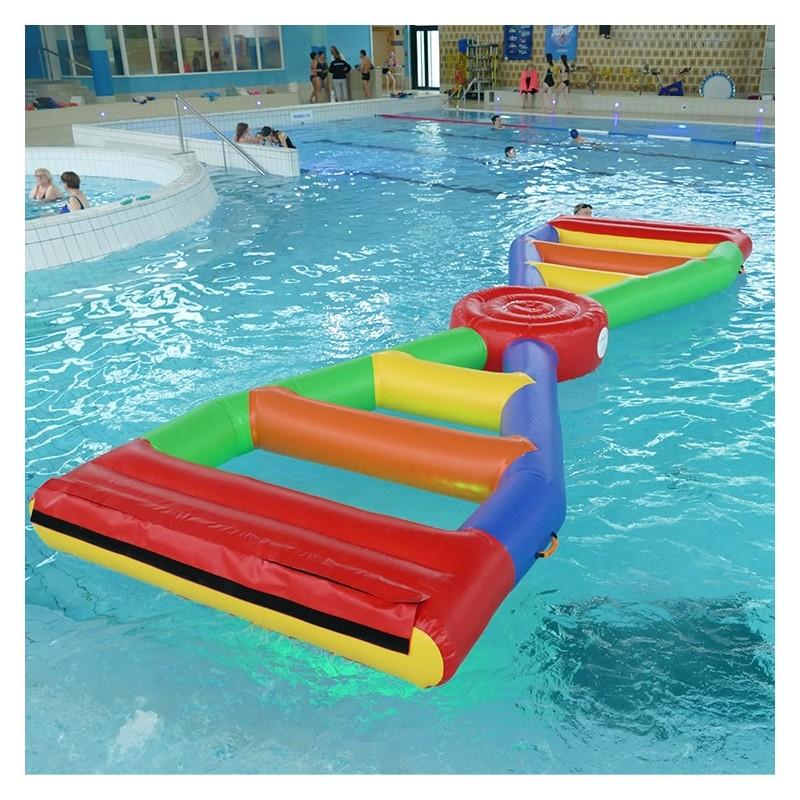 Jeu Gonflable Aquatique pour piscine : Pont en X