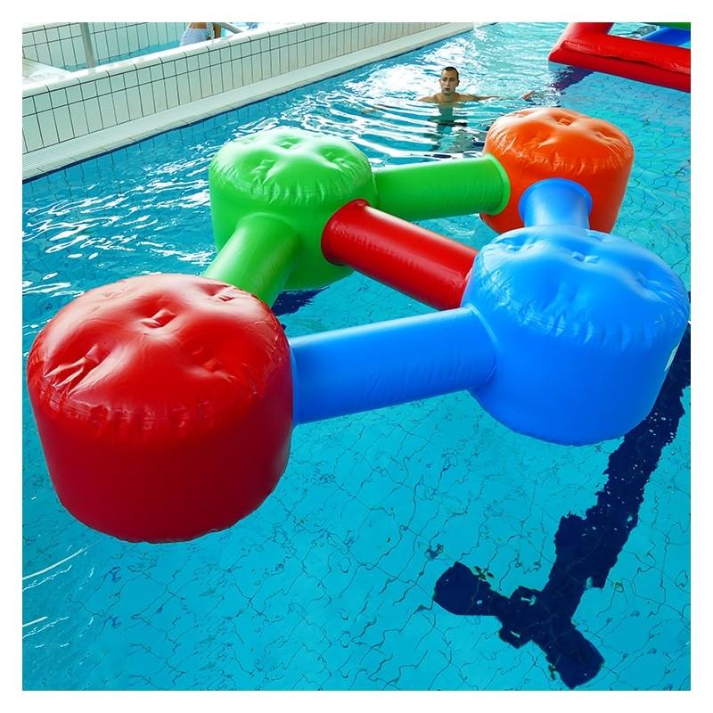 Jeu Gonflable Aquatique pour piscine : Simple Molécule