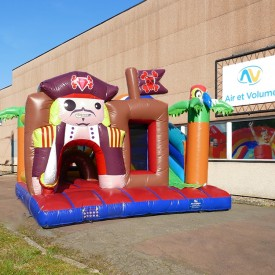 Inflatable Pirate Playground