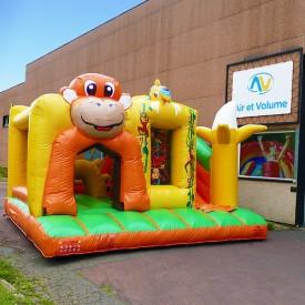Inflatable Monkey Playground
