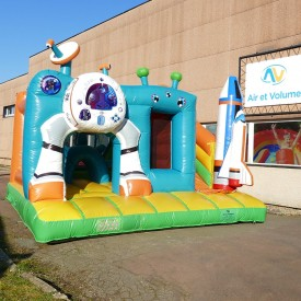 Inflatable Space Playground