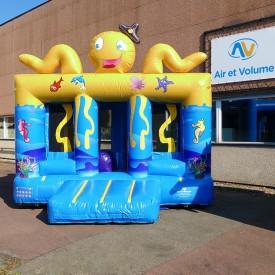Octopus Bouncy Castle