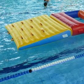 Rampe d'accès pour Jeux Gonflables Aquatiques en piscine