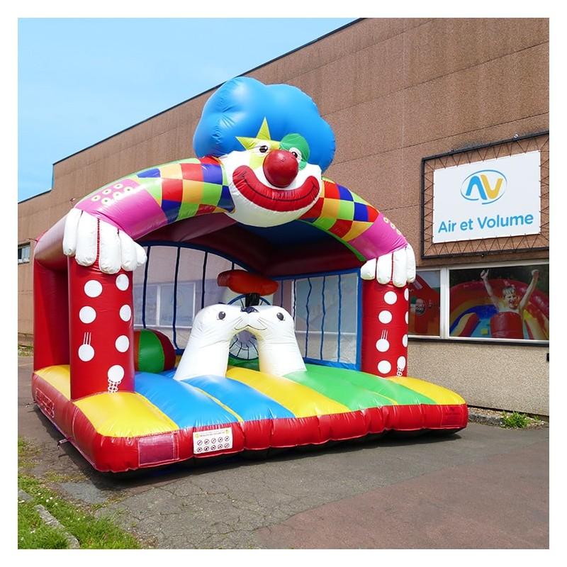 Inflatable Bouncy Castle Clown