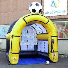 Soccer Goal Wall with Radar