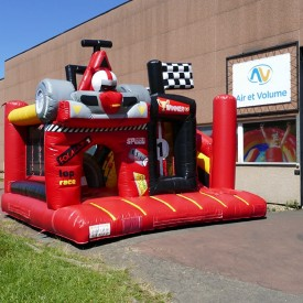 Inflatable Racing Playground