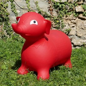 Bouncy Red Elephant Hopper