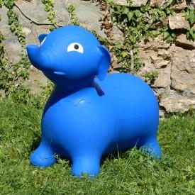 Éléphant Sauteur Bleu