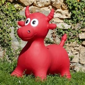 Bouncy Red Cow Hopper GM