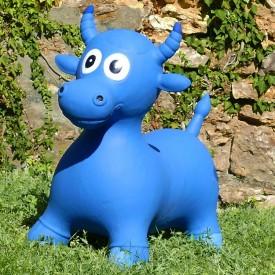 Bouncy Blue Cow Hopper