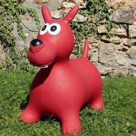 Bouncy Red Dog Hopper