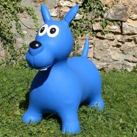 Bouncy Blue Dog Hopper