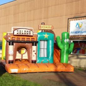 Inflatable Saloon Playground