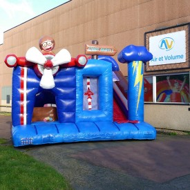 Inflatable Plane Playground