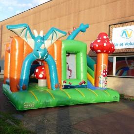Inflatable Dragon Playground