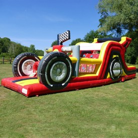 Inflatable Formula 1 Course
