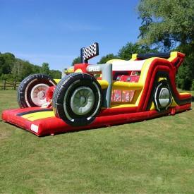 Parcours Gonflable Formule 1