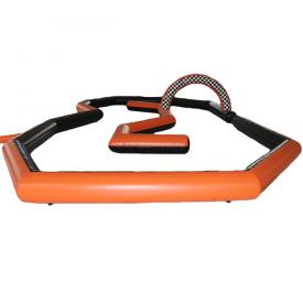 Circuit Gonflable Orange et Noir