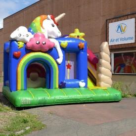 Inflatable  Unicorn Playground