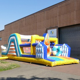 Inflatable Beach Course