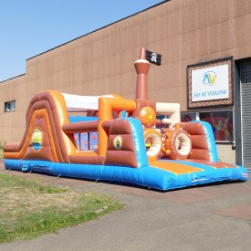 Inflatable Pirate course