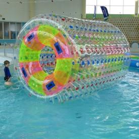 Jeu Gonflable Aquatique pour piscine : Rouleau Transparent