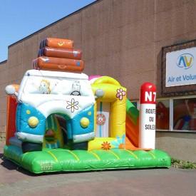 Inflatable Van Playground