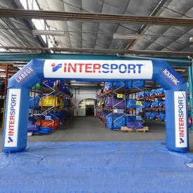 Arche Gonflable Intersport