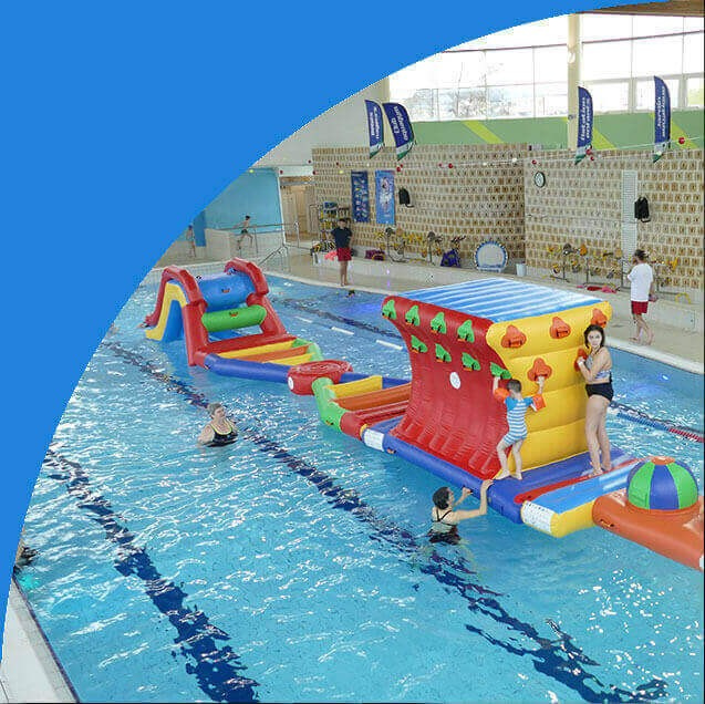 Inflatable Aquatic Games