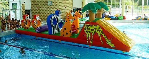Parcours Gonflable Aquatique Ventilé